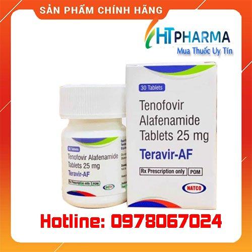 Thuốc Teravir AF là thuốc gì? giá bao nhiêu? mua ở đâu chính hãng