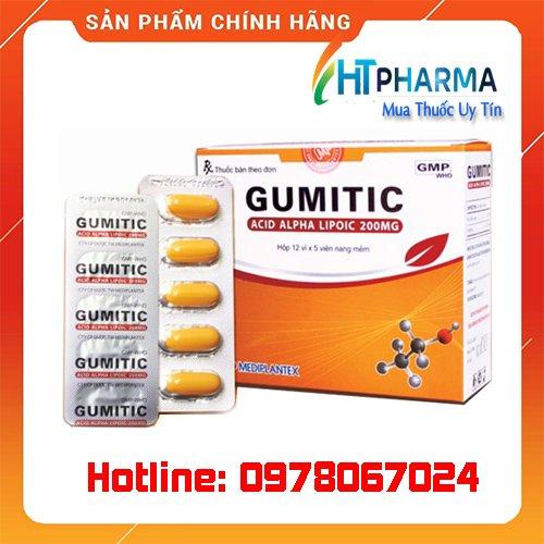 thuốc Gumitic là thuốc gì, giá bao nhiêu mua ở đâu chính hãng