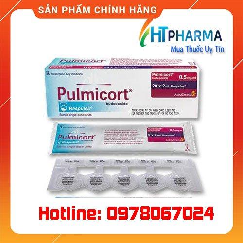 thuốc Pulmicort Respules giá bao nhiêu mua ở đâu