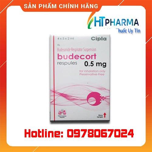 thuốc Budecort 0.5mg giá bao nhiêu mua ở đâu chính hãng