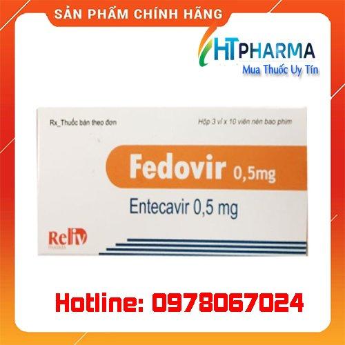 Thuốc Fedovir giá bao nhiêu mua ở đâu chính hãng