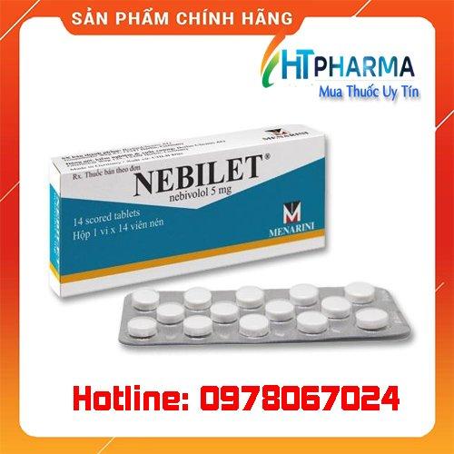 thuốc nebilet 5mg giá bao nhiêu mua ở đâu chính hãng