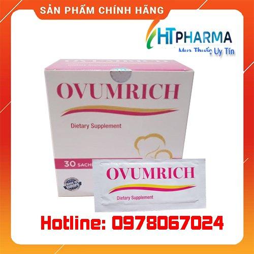 thuốc Ovumrich giá bao nhiêu mua ở đâu chính hãng