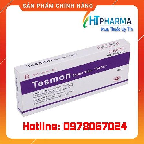 thuốc tesmon tiêm testosterone