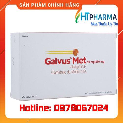 thuốc Galvus Met giá bao nhiêu mua ở đâu