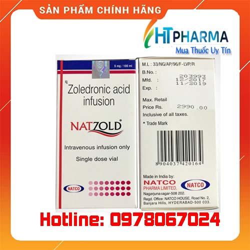 thuốc Natzold giá bao nhiêu mua ở đâu chính hãng