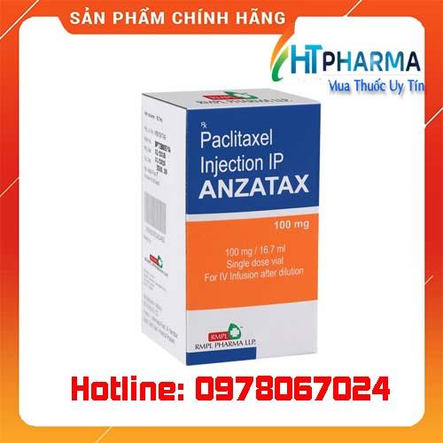 thuốc Anzatax 100mg giá bao nhiêu mua ở đâu chính hãng