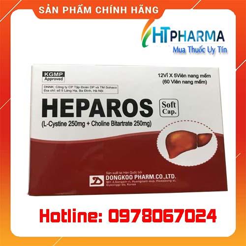 thuốc Heparos giá bao nhiêu mua ở đâu chính hãng