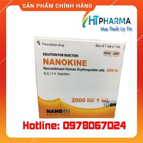 Thuốc Nanokine 2000 IU, 4000IU giá bao nhiêu mua ở đâu chính hãng