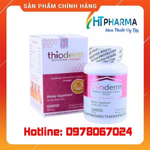 Thuốc Thioderm giá bao nhiêu mua ở đâu chính hãng