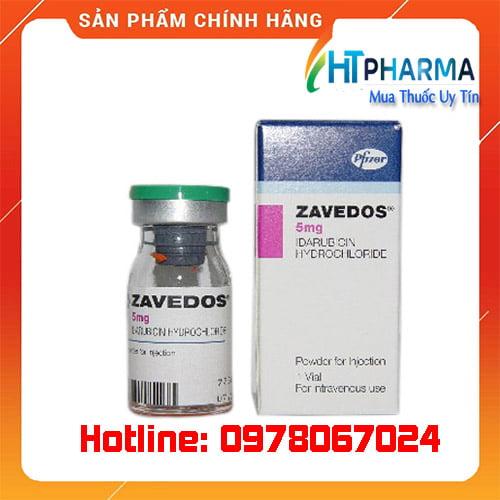 thuốc Zavedos giá bao nhiêu mua ở đâu chính hãng