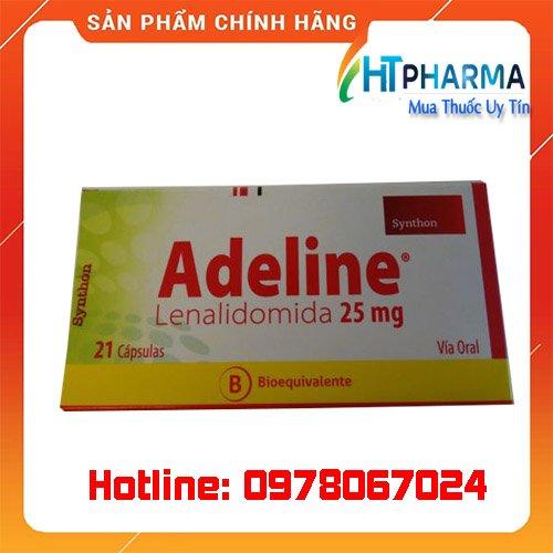 thuốc adeline 25mg là thuốc gì? giá bao nhiêu? mua ở đâu?
