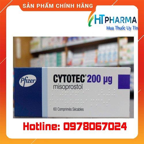 thuốc Cytotec 200mcg giá bao nhiêu mua ở đâu chính hãng