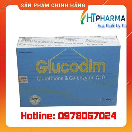Thuốc Glucodim giá bao nhiêu mua ở đâu chính hãng