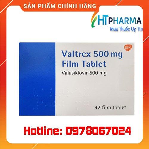 thuốc Valtrex 500 giá bao nhiêu mua ở đâu chính hãng