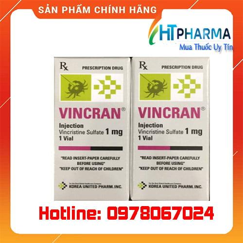 Thuốc Vincran là thuốc gì? giá bao nhiêu mua ở đâu