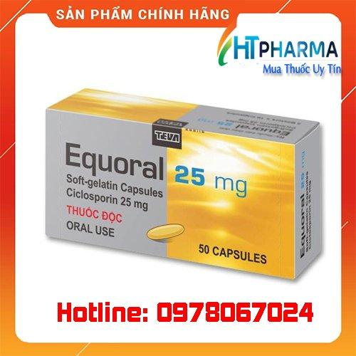 thuốc Equoral giá bao nhiêu mua ở đâu chính hãng