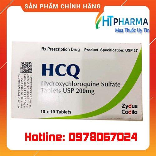 Thuốc HCQ 200mg giá bao nhiêu mua ở đâu chính hãng