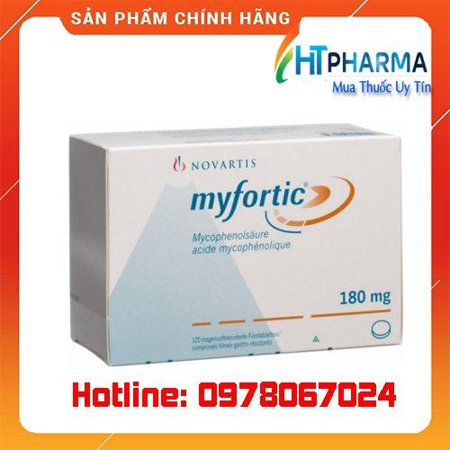 Thuốc Myfortic giá bao nhiêu mua ở đâu chính hãng