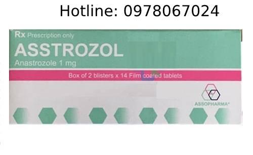 thuốc asstrozol giá bao nhiêu mua ở đâu